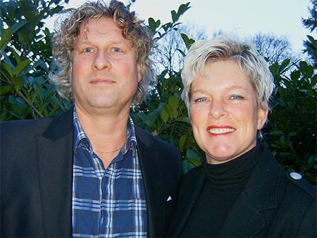 Arian en Annette Heinen - B&B Bosgasten